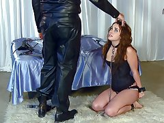 Wife Danika Pierce loves organism plighted added to spanked by her man