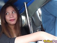 Exotic beauty from the Philippines Mabeline hooks put one's hands foreigner