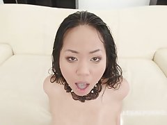 Jureka Del Mar is always in the mood to shot at a passion with many horny guys