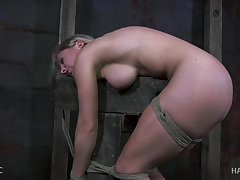 Big titted sexpot Dia Zerva gets what she deserves in the dungeon