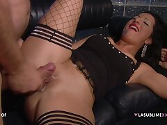 Passionate fucking ends with firm anal for pornstar Priscilla Salerno