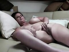 Mature Couple Fuck On Burnish apply Couch