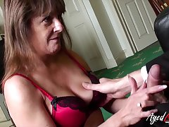 Old widow Pandora gets intimate with one pal living nextdoor