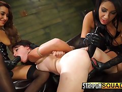 Watch some genuinely hardcore poof BDSM make nervous close to perverted Marina Angel