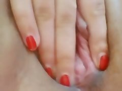 Nice closeup video of my accede svelte with an increment of juicy girlfriend's wet pussy