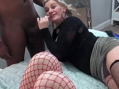 Hellacious amateurs wear and tear spacious dicks at a five some swinger orgy